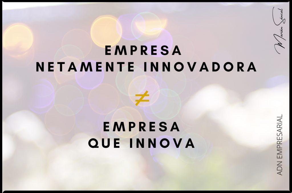 Empresa netamente innovadora
